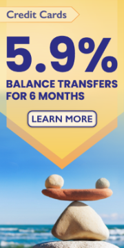 5.9% Balance Transfers for 6 months